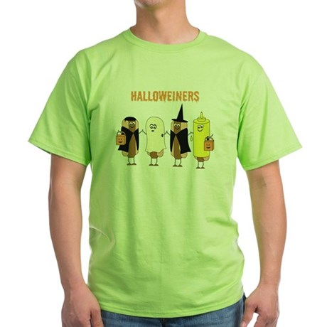 Halloweiners Green T-Shirt