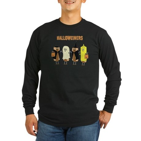 Halloweiners Long Sleeve Dark T-Shirt
