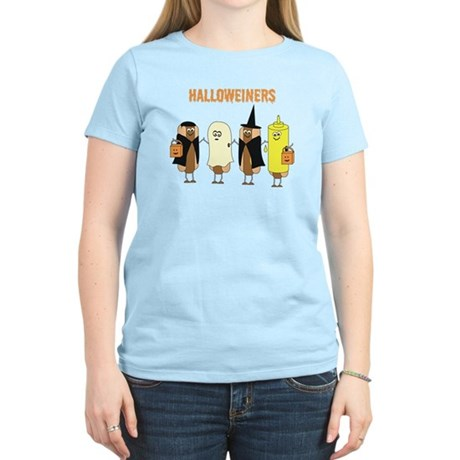 Halloweiners Women's Light T-Shirt