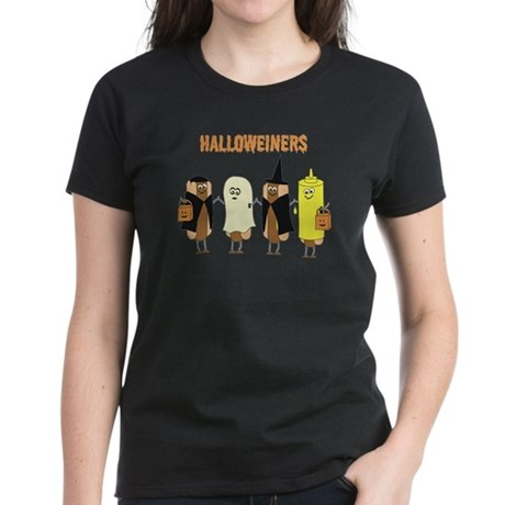 Halloweiners Women's Dark T-Shirt