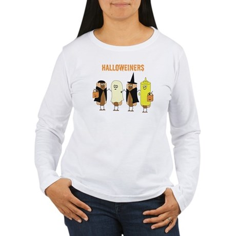 Halloweiners Women's Long Sleeve T-Shirt