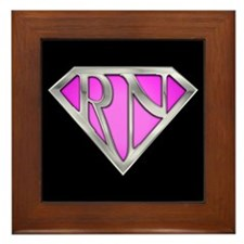 Super RN - Pink Framed Tile