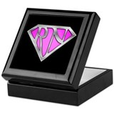 Super RN - Pink Keepsake Box
