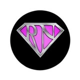 "Super RN - Pink 3.5"" Button"