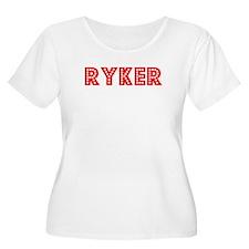 Retro Ryker (Red) T-Shirt