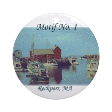 Motif No. 1 Ornament (Round)