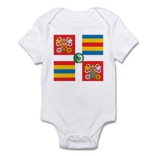 Swiss Guard Banner Infant Bodysuit