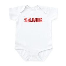 Retro Samir (Red) Infant Bodysuit
