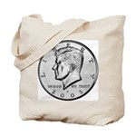 Kennedy Half Dollar Tote Bag