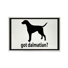 Got Dalmatian? Rectangle Magnet