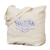 Nurse Lattice Graphic Heart Tote Bag