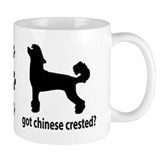 Got Chinese Crested? Mug