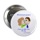Kiss this guy 2.25&quot; Button (100 pack)