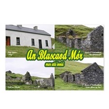 "Blasket Houses 6""x4"" Postcards (Package of 8)"
