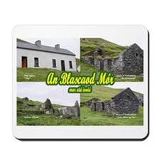 Blasket Houses Mousepad