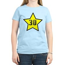 30th Birthday Star T-Shirt