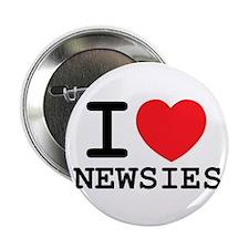 I Love Newsies Button