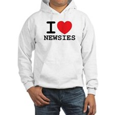 I Love Newsies Hoodie Sweatshirt