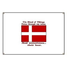 Danish Viking & Beer Banner
