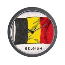 Flag of Belguim Wall Clock