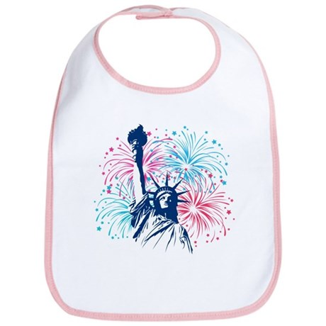 4th Of July Bib