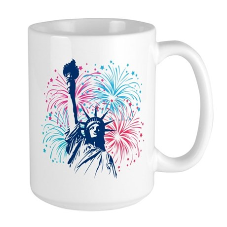 4th Of July Large Mug