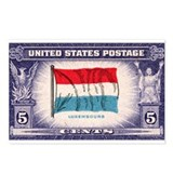 Flag of Luxembourg Postcards (Package of 8)