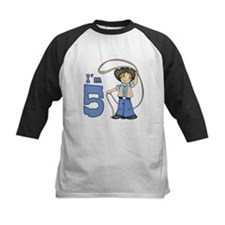 Cowboy Roper 5th Birthday Tee