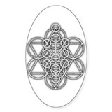 Unity Consciousness Oval Decal