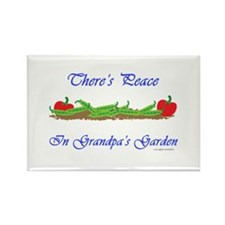 Grandpa's Garden Rectangle Magnet (100 pack)