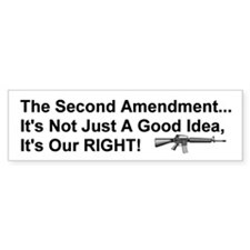 Second Amendment Bumper Bumper Sticker