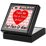 Test Drive Keepsake Box