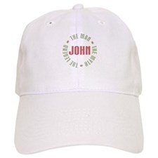John Man Myth Legend Baseball Cap