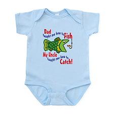 Dad Uncle Fish Infant Bodysuit