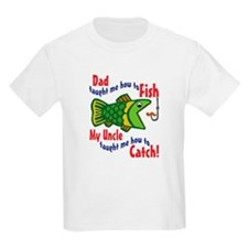 Dad Uncle Fish T-Shirt