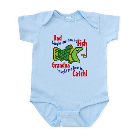 Dad Grandpa Fishing Infant Bodysuit