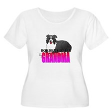 Border Collie Grandma T-Shirt