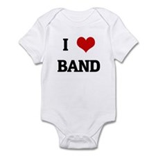 I Love BAND Infant Bodysuit