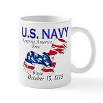 U.S. Navy Freedom Isn't Free Mug