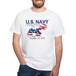 U.S. Navy Freedom Isn't Free White T-Shirt