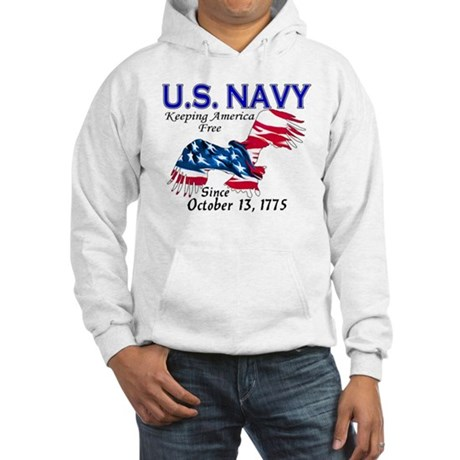 U.S. Navy Freedom Isn't Free Hooded Sweatshirt