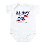 U.S. Navy Freedom Isn't Free Infant Creeper