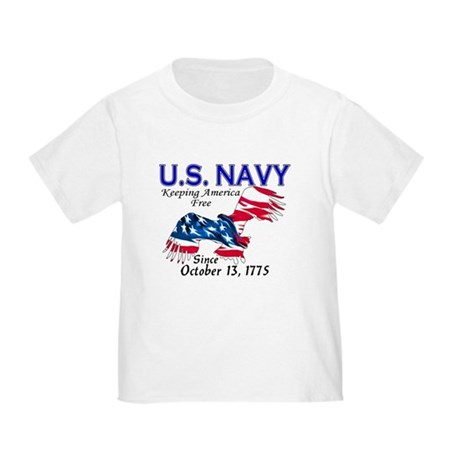 U.S. Navy Freedom Isn't Free Toddler T-Shir