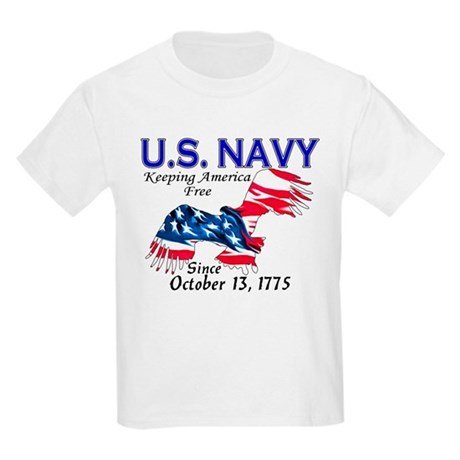 U.S. Navy Freedom Isn't Free Kids T-Shirt
