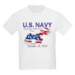 U.S. Navy Freedom Isn't Free Kids T-Shirt