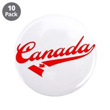 """Oh Canada 3.5"""" Button (10 pack)"""