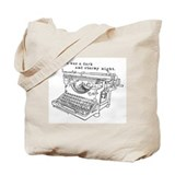 Writer's Tote Bag