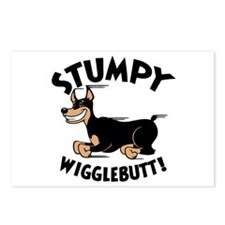 Stumpy Wigglebutt! Postcards (Package of 8)
