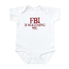 FBI is watching me. Onesie