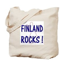 Finland Rocks ! Tote Bag